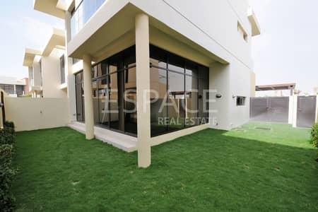 3 Bedroom Villa for Rent in DAMAC Hills (Akoya by DAMAC), Dubai - Landscaped 3 Bedroom Fully Furnished