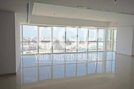 4 Bedroom Penthouse for Rent in Al Reem Island, Abu Dhabi - Big Layout 4BR Penthouse w/ Relaxing View
