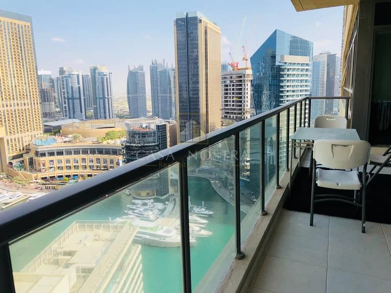 15 High ROI 2BR Full Marina View with Balcony