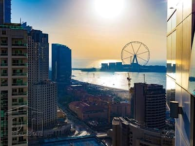 1 Bedroom Flat for Rent in Dubai Marina, Dubai - Marina / Sea View - Furnished - High Floor