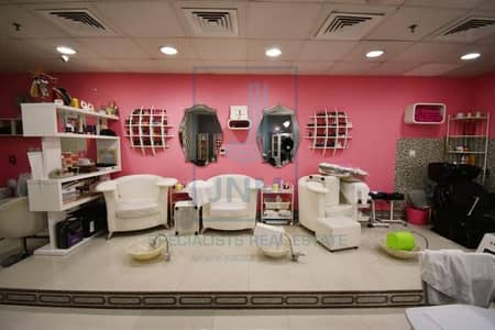 Shop for Rent in Jumeirah Lake Towers (JLT), Dubai - Super Chic Fully Furnished Salon in JLT!
