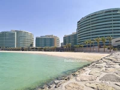 4 Bedroom Apartment for Sale in Al Raha Beach, Abu Dhabi - Full seaview 4BR w/ balcony in Al Muneera