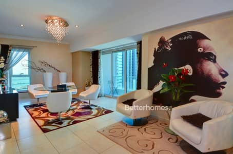 3 Bedroom Apartment for Rent in Dubai Marina, Dubai - 3 Bedroom | Duplex | Furnished | Higher Floor