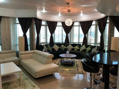 2 Bedroom Apartment for Rent in Dubai Marina, Dubai - Panoramic Palm View! Furnished 2Bed + Maid