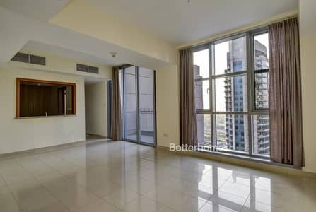 2 Bedroom Flat for Rent in Downtown Dubai, Dubai - 2 BR + study | Stand Point Tower | High Floor