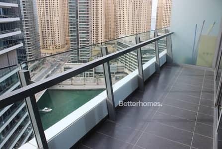 Studio for Rent in Dubai Marina, Dubai - Marina View | High Floor | Flexible Cheques