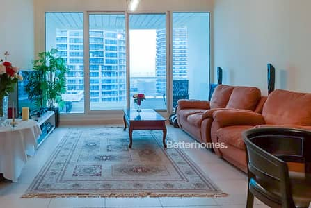 1 Bedroom Flat for Rent in Dubai Marina, Dubai - Marina Sail | High Floor | Furnished | Chiller Free