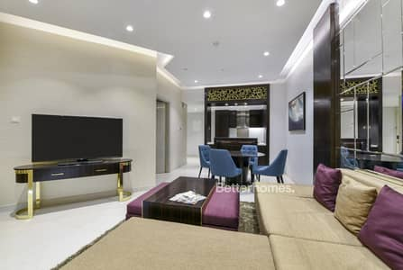 1 Bedroom Flat for Rent in Downtown Dubai, Dubai - Luxury Furnished | Upper Crest | Balcony | High Floor