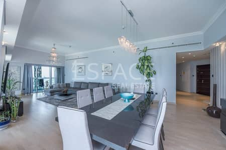 4 Bedroom Apartment for Rent in Dubai Marina, Dubai - Fully Furnished - Great Facilities - Parking