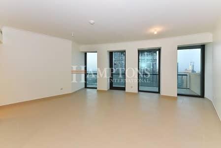 2 Bedroom Flat for Rent in Downtown Dubai, Dubai - Brand New   Full Sea View   High Floor