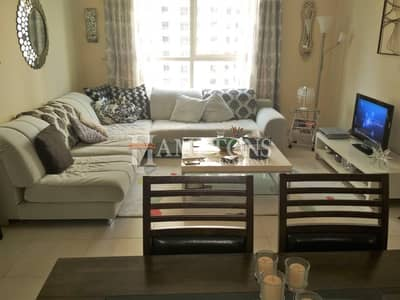 1 Bedroom Apartment for Rent in Dubai Marina, Dubai - Fully Furnished | Low Floor | Vacant