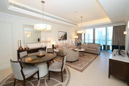 1 Bedroom Flat for Rent in Downtown Dubai, Dubai - All Inclusive | Burj View | Address Blvd