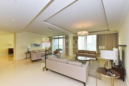 2 Bedroom Apartment for Rent in Downtown Dubai, Dubai - View Burj & Fountain from High Floor