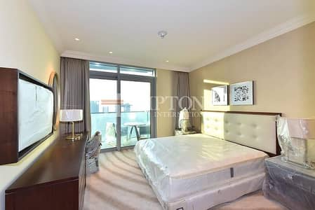 2 Bedroom Apartment for Rent in Downtown Dubai, Dubai - Fully Furnished | Serviced | Burj View