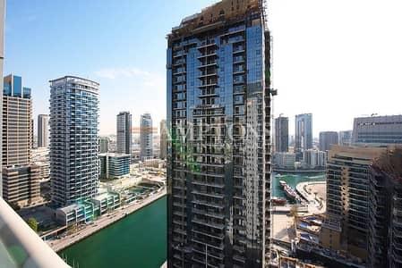 3 Bedroom Flat for Rent in Dubai Marina, Dubai - 3BR in Marina Wharf | Partial Marina View