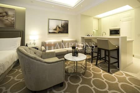 Studio for Rent in Downtown Dubai, Dubai - All inclusive Studio in The Address BLVD