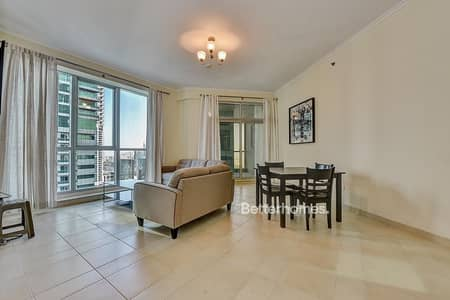 2 Bedroom Apartment for Rent in Dubai Marina, Dubai - Furnished High Floor | Extra Store Torch