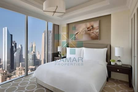 Downtown/Burj Khalifa views from large 2 BR