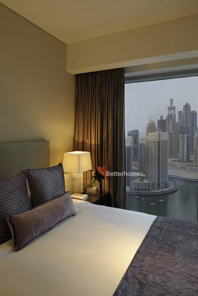 1 Bedroom Apartment for Rent in Dubai Marina, Dubai - Corner View I Fully furnished I High floor
