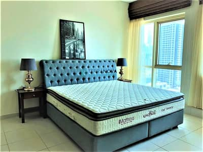1 Bedroom Apartment for Rent in Dubai Marina, Dubai - Modern Furnished - 1 Bedroom - MARINA