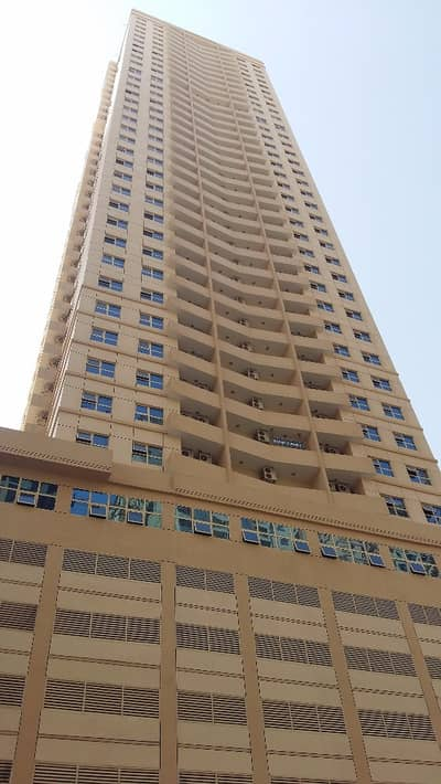1 Bedroom Flat for Rent in Emirates City, Ajman - one bedroom available for rent with parking by 6 cheques !