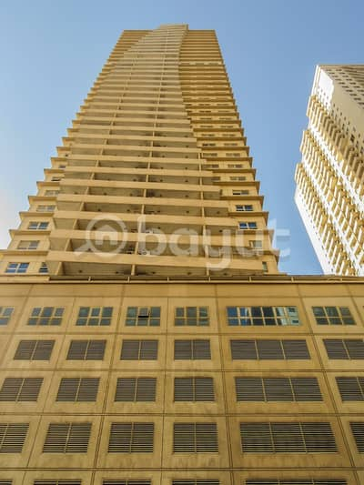 1 Bedroom Flat for Sale in Emirates City, Ajman - Spacious 1bhk available for sale in lavender tower!!