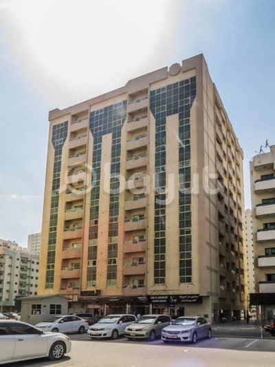 فلیٹ 2 غرفة نوم للايجار في ابو شغارة، الشارقة - ابو شغارة مقابل حديقة ابو شغارة