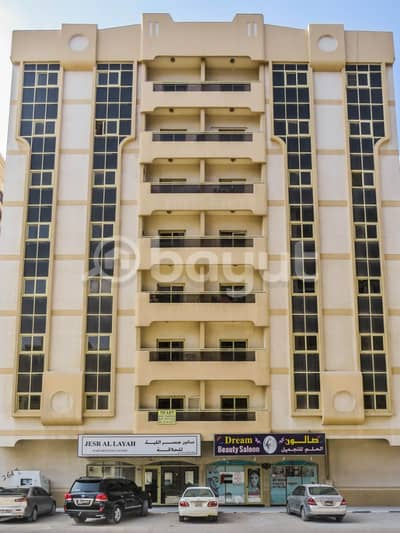 2 Bedroom Apartment for Rent in Muwailih Commercial, Sharjah - Muwailih opposite United Supermarket near traffic sign for schools