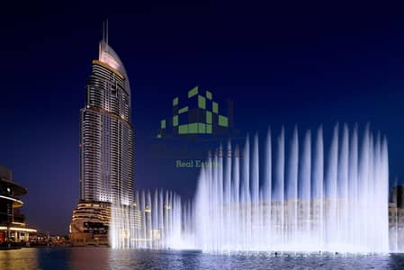3 Bedroom Flat for Sale in Downtown Dubai, Dubai - Three-Bedroom Apartment with Fountain and Burj Khalifa View