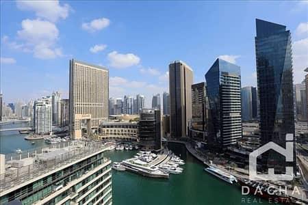 2 Bedroom Apartment for Rent in Dubai Marina, Dubai - Amazing 2BR / Chiller free / Full Marina view