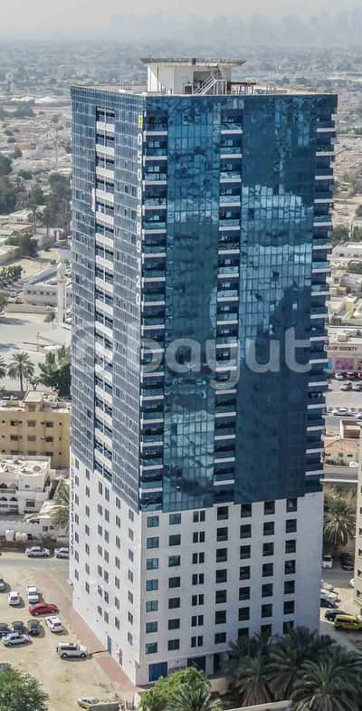 2 Bedroom Flat for Rent in Al Nuaimiya, Ajman - 2-BHK Apartment for Rent in Al Khalid Tower