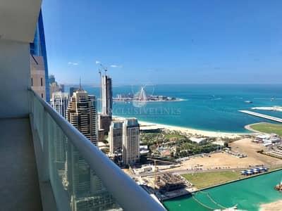4 Bedroom Flat for Sale in Dubai Marina, Dubai - 3BR+maids room
