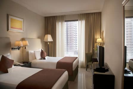 1 Bedroom Hotel Apartment for Rent in Dubai Media City, Dubai - Modern Fully Furnished 1 BHK close to Metro