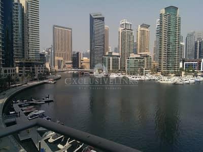 3 Bedroom Villa for Rent in Dubai Marina, Dubai - Stunning Full Marina View duplex terrace