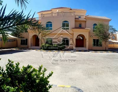 6 Bedroom Villa for Rent in Khalifa City A, Abu Dhabi - LUXURY 6 MASTER BED VILLA W/ SECURITY AND MAINTENANCE