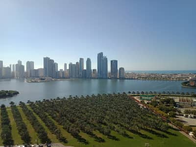 2 Bedroom Apartment for Rent in Al Majaz, Sharjah - luxury offer two b h k in very cheap price very huge apartment with full see view 38 k