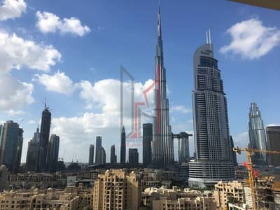 2 Bedroom Apartment for Rent in Downtown Dubai, Dubai - Burj Views 2 BHK Full Burj Khalifa View!