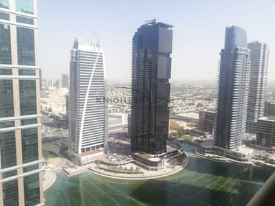 1 Bedroom Apartment for Rent in Jumeirah Lake Towers (JLT), Dubai - Spectacular Lake View 1 B/R  Ready To Move