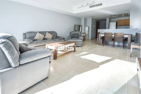 2 Bedroom Apartment for Rent in Dubai Marina, Dubai - Marina view | Close to beach | Furnished