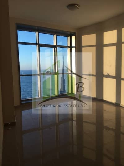 2 Bedroom Apartment for Rent in Corniche Ajman, Ajman - 2 BEDROOM FULL SEA VIEW WITH (2) TWO PARKING SPACE FREE / FREE AC / CENTRAL GAS