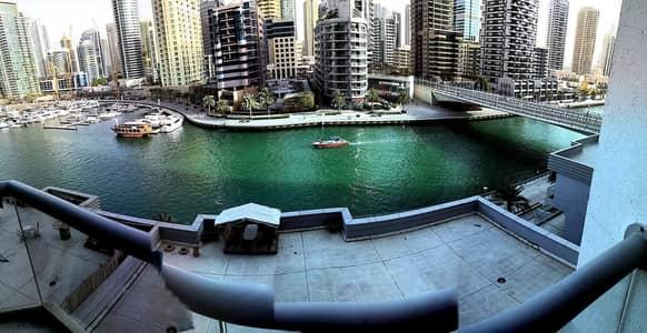 2 Bedroom Apartment for Rent in Dubai Marina, Dubai - Beautiful Marina View with 2 Bed Apartment