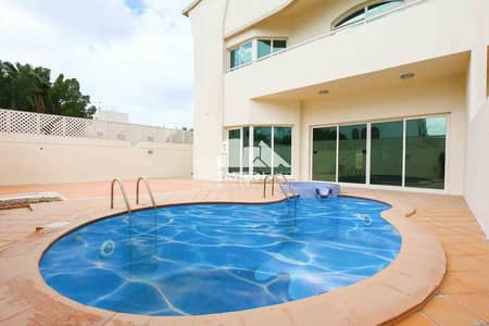 6 Bedroom Villa for Rent in Al Karamah, Abu Dhabi - Private Pool