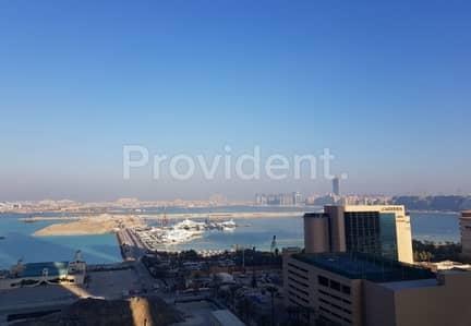 1 Bedroom Flat for Rent in Dubai Marina, Dubai - Full Sea View | Furnished | Lower Floor