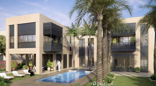 4 Bedroom Villa for Sale in Mohammad Bin Rashid City, Dubai - Super spacious villas. Centre of the city. Choose Different styles/designs.