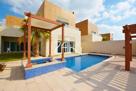 5 Bedroom Villa for Rent in The Marina, Abu Dhabi - Hot Deal! Brand New 5+M Villa with Pool