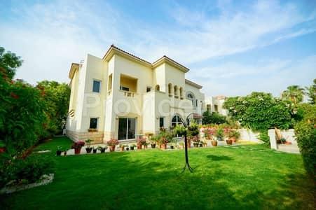 4 Bedroom Villa for Sale in Dubai Festival City, Dubai - Lush Greenery Home|4BR+M Villa |Al Badia