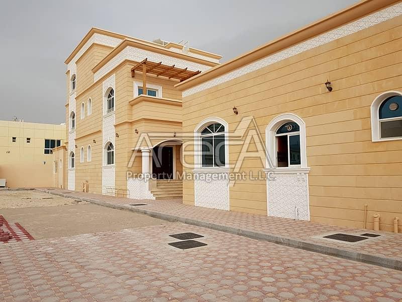 Huge New 8 Bed Villa! Great Price, Khalifa City!