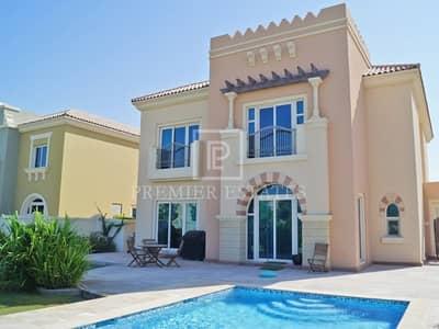 5 Bedroom Villa for Sale in Dubai Sports City, Dubai - Upgraded 5 Bed Villa - Type C1 with Pool