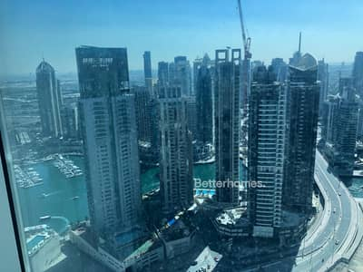2 Bedroom Apartment for Rent in Dubai Marina, Dubai - Large 2 Bedroom - High floor - Ready to move in