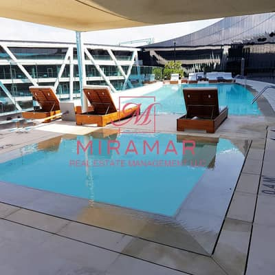 3 Bedroom Flat for Rent in Al Bateen, Abu Dhabi - CLUB STYLE ! FURNISHED WATER FRONT VIEW